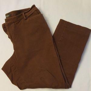 Ralph Lauren Brown Denim Jeans